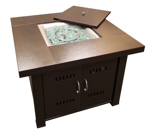 TFPS Antique Bronze Fire Pit Table