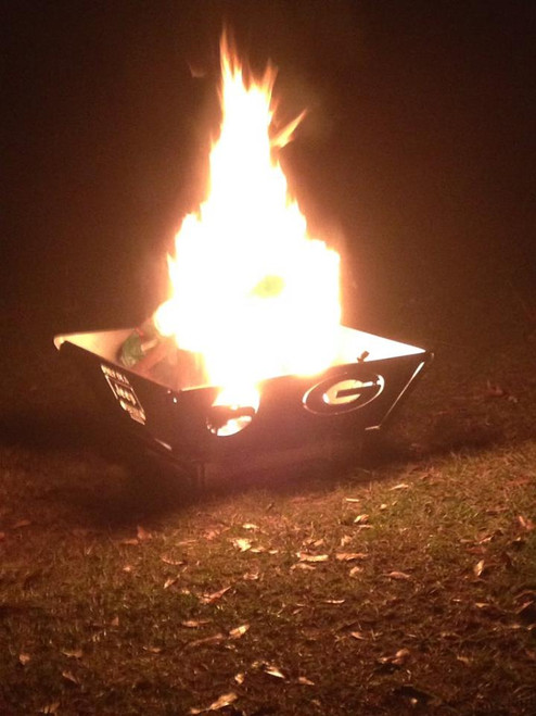 TFPS 24 inch Port-A-Pit Portable Fire Pit - Customize Your Fire Pit  1