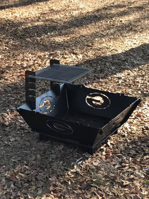 TFPS 31 inch Port-A-Pit Portable Fire Pit - Customize Your Fire Pit