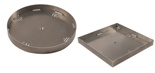 Warming Trends Custom 25 -29 inch - 1/8 inch Aluminum Pan for Cross Fire Gas Burner