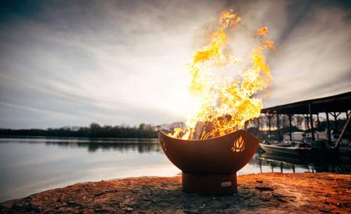 Fire Pit Art Namaste 36 inch Fire Pit - NAM 3