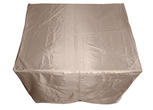 Hiland Heavy Duty Waterproof Square Propane Fire Pit Cover - 45 x 45 x 23 - HLI-F-SCVR