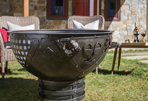 Dream Weaver Fire Pit - 37 inch Wood Burning Fire Bowl 4