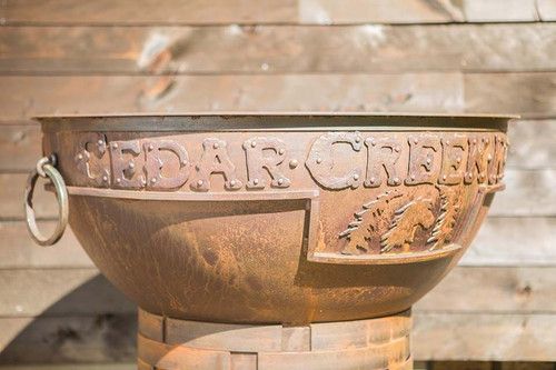 Legacy Fire Pit - 37 inch Wood Burning Fire Bowl 4