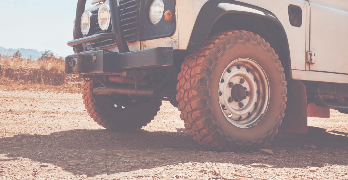 Rugged Terrain Tires