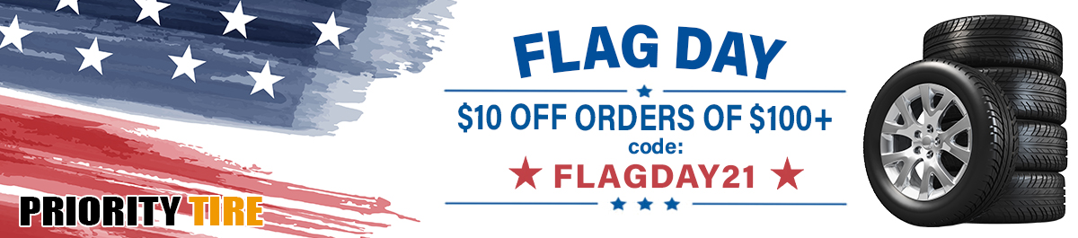 Priority Tire Flag Day Sale