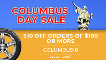 Columbus Day Sale $10 Off