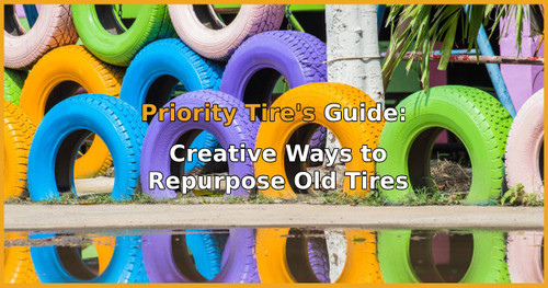Repurpose Old Tires: Garden, Holidays & More