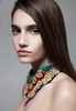 Tribal Necklace Statement Bib Beaded Collar Necklace