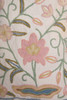 vintage boho fabric bag floral embroidered bohemian hippie purse tassel trim