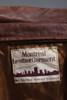 leather trench coat jacket brown pockets belted ultra soft vintage 70s LARGE L