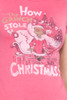 "Junk Food T Shirt Tee 50/50 How the Grinch Stole Christmas Red S (16"" width)"