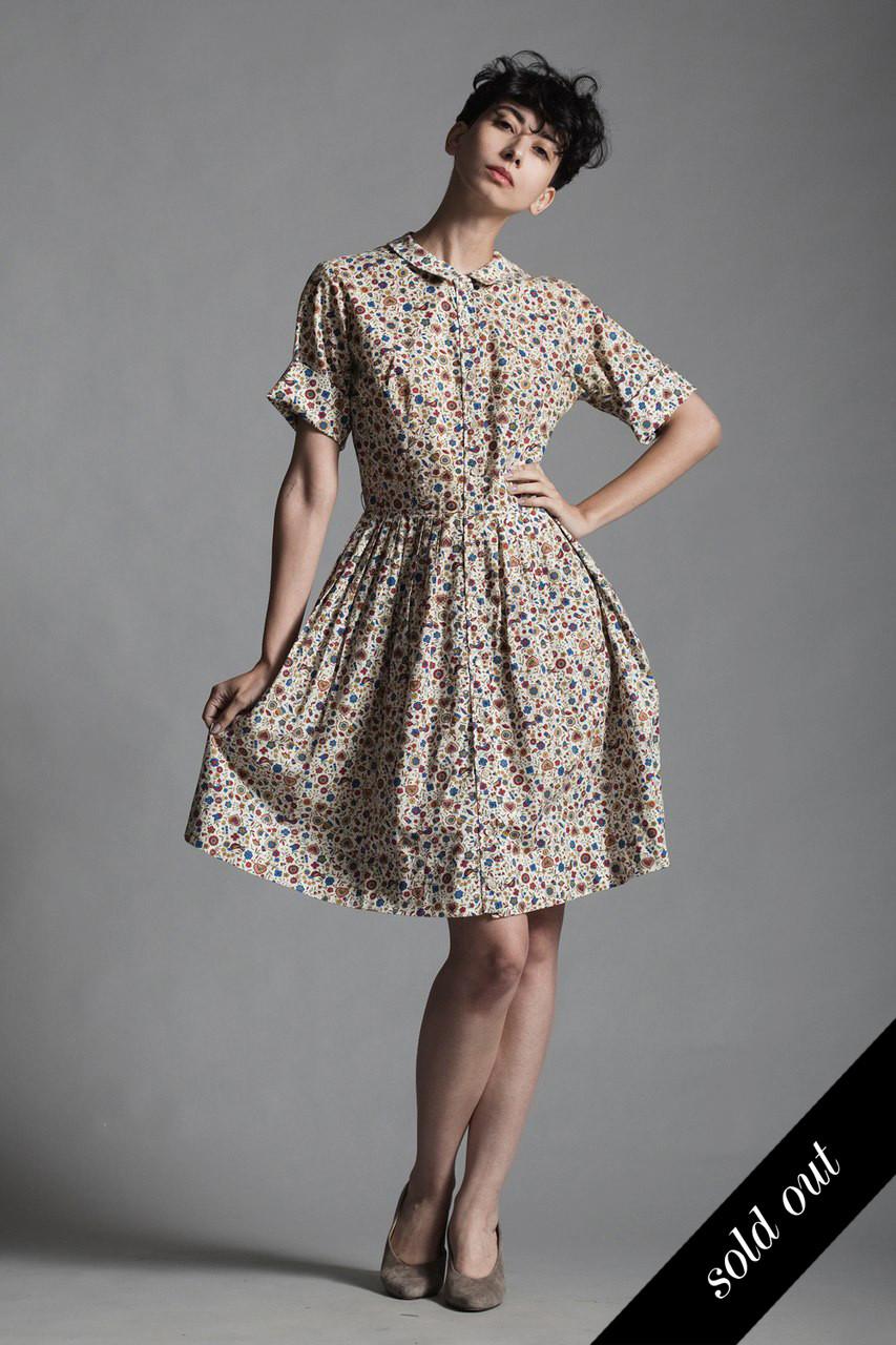 50s Short Dress