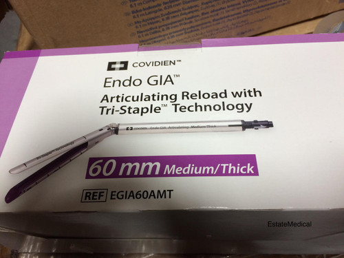 Covidien EGIA60AMT Endo GIA™ 60 mm Articulating Medium/Thick Loading Unit -  1/EA