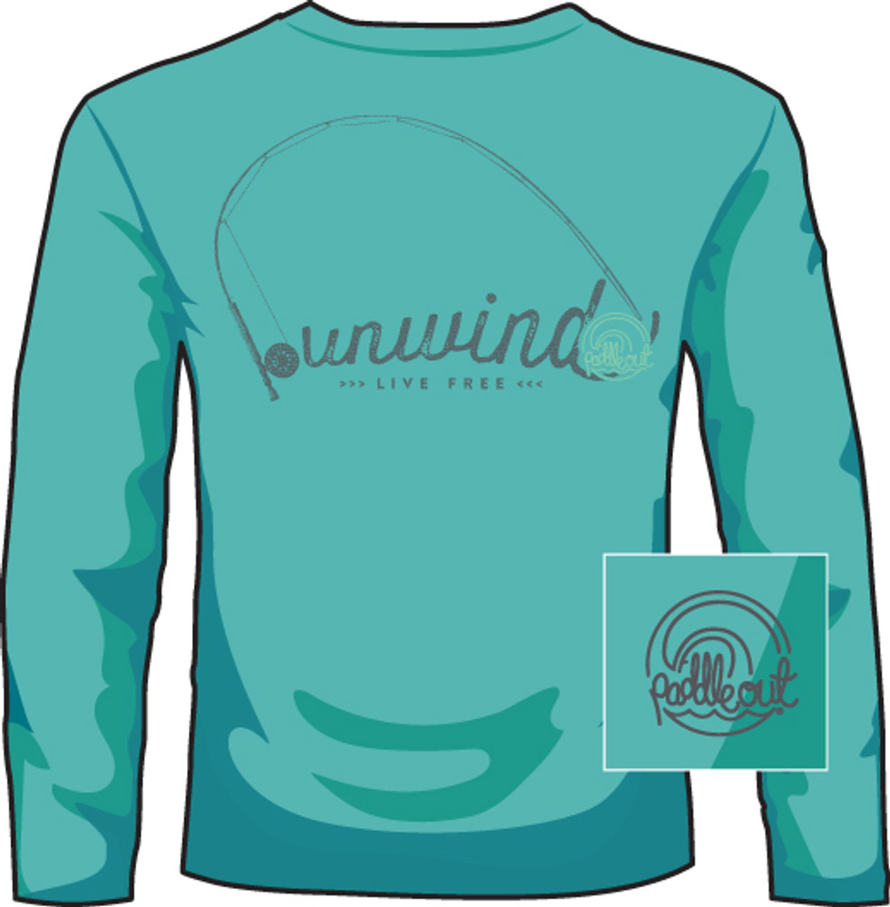 Paddle Out Unwind Light Green LS