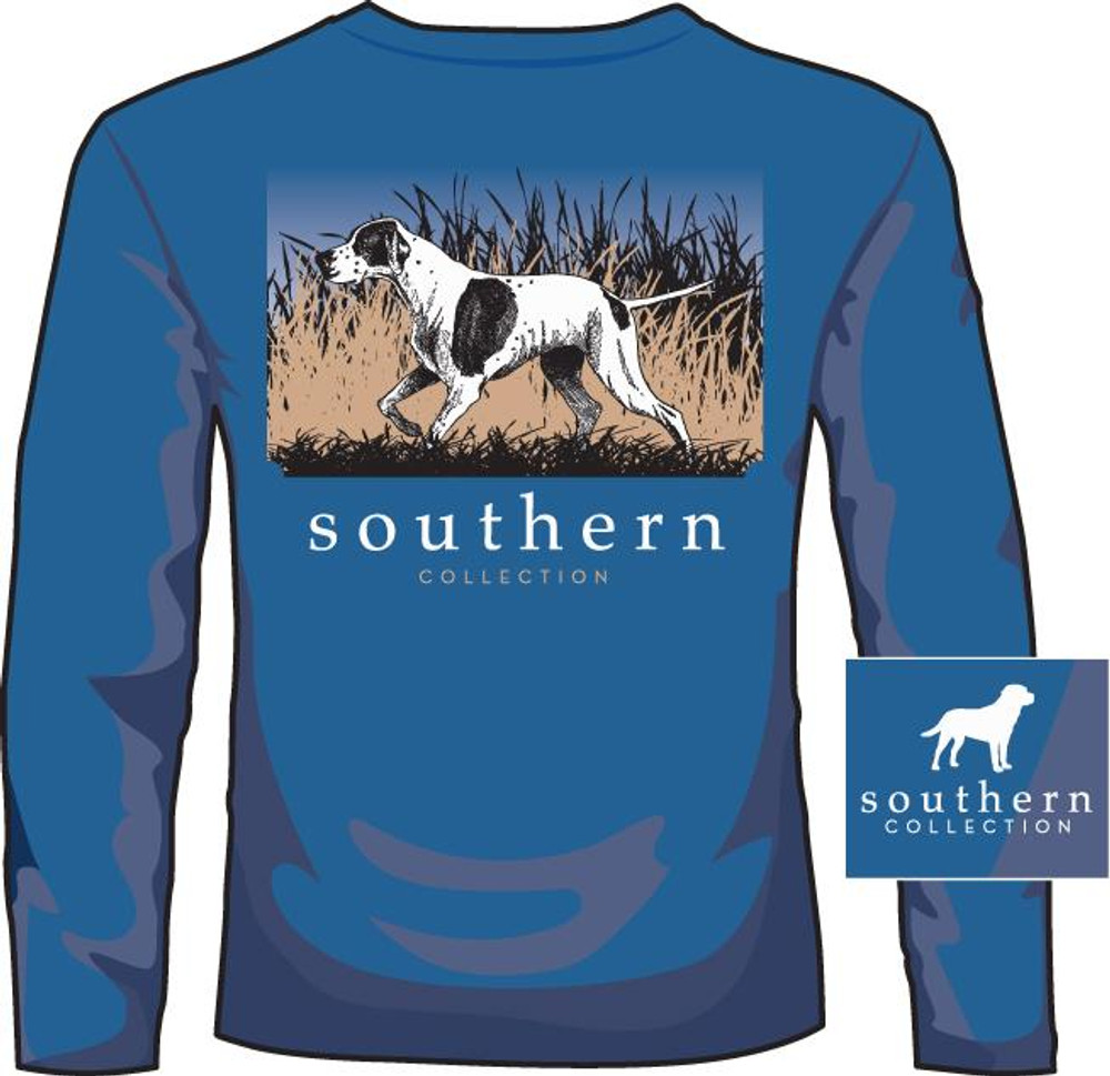 Southern Collection Pointer Mid Blue LS