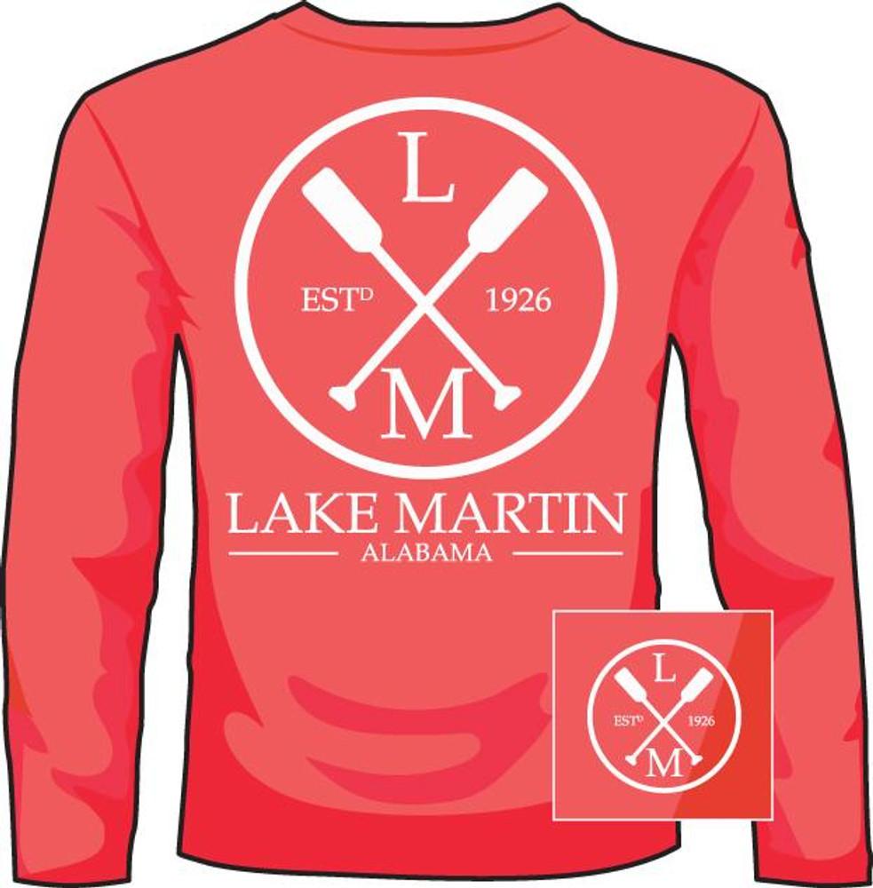 Lake Martin Paddles Mid Orange LS