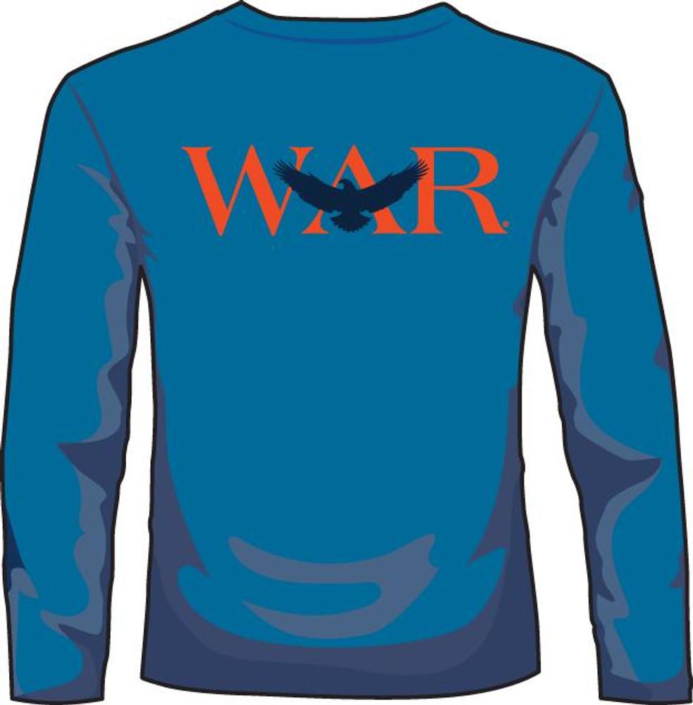 """Auburn """"WAR"""" Mid Blue LS"""