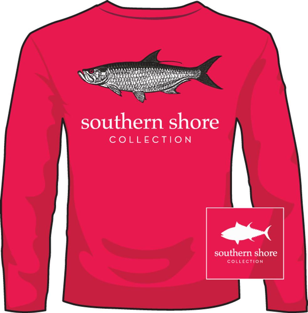 Southern Shore Tarpon Mid Red LS