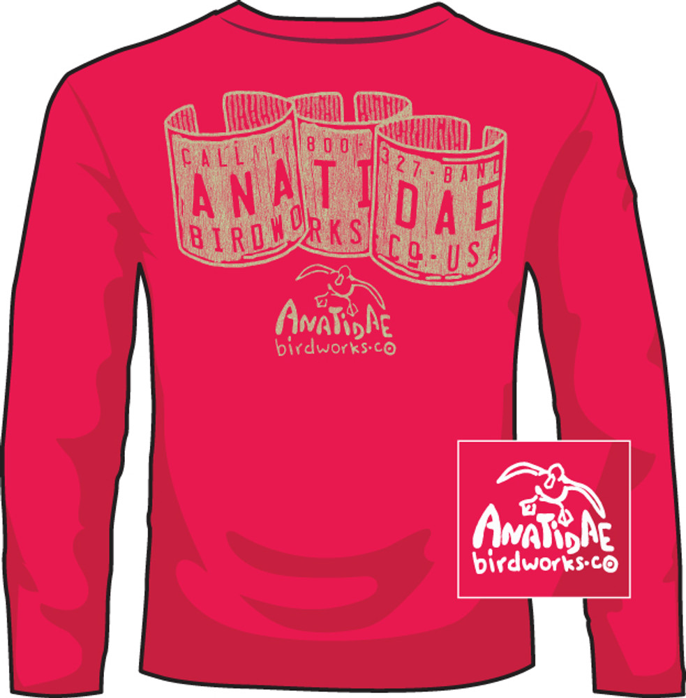 Anatidae Bands Mid Red LS