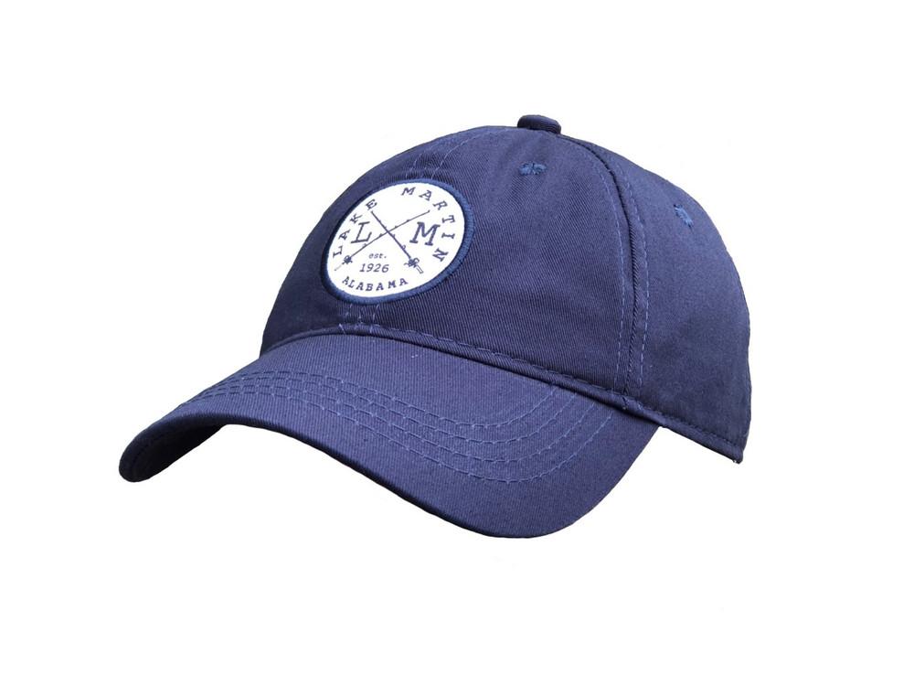 Lake Martin Navy Blue Hat