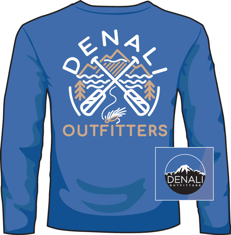 Denali Outfitters Paddles Mid Blue LS