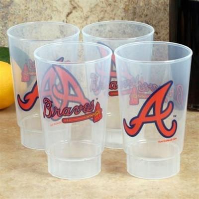 Atlanta Braves 4pk Tumbler Set