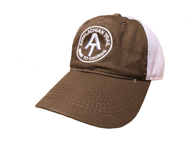 Brown Appalachian Trail Cap