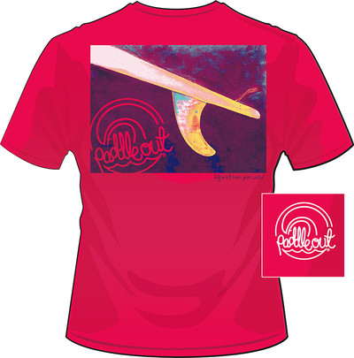 Paddle Out Skeg Light Red