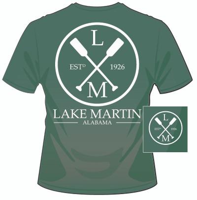Lake Martin Paddles Mid Green