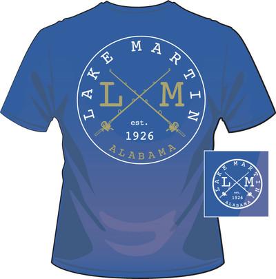 Lake Martin 1926 Mid Blue