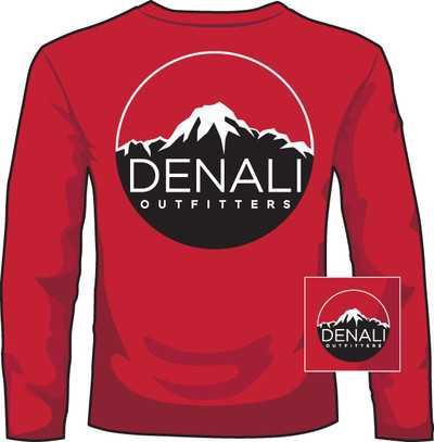 Denali Outfitters Mid Red LS