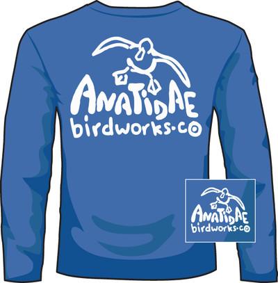 Anatidae Birdworks Mid Blue LS