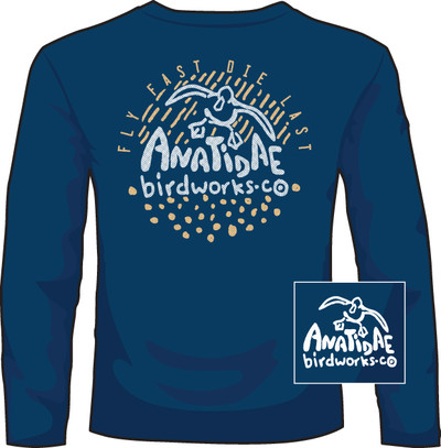 Anatidae Fly Fast Navy LS