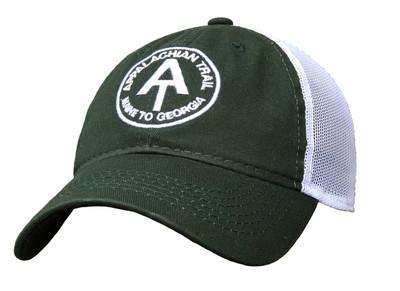 Green Appalachian Trail Mesh Trucker Hat