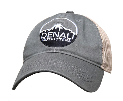 Denali Outfitters Olive Mesh Trucker Hat