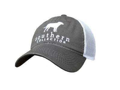 Southern Collection Charcoal Mesh Trucker Hat