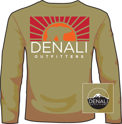 Denali Outfitters Bear Brown LS