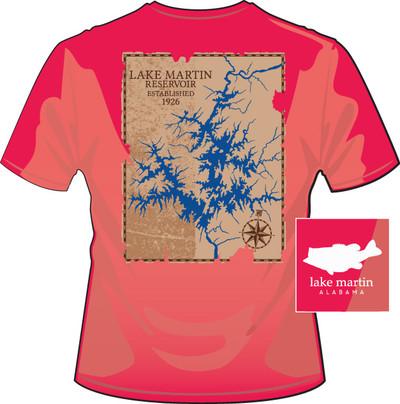 Lake Martin Map Salmon