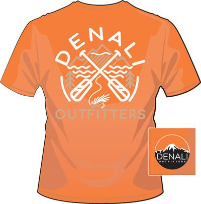 Denali Outfitters Paddles Orange