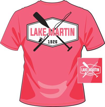 Lake Martin Rod and Paddle Pink