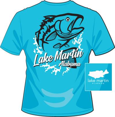 Lake Martin Fish Splash Aqua