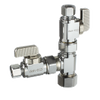 Dahl E33-5001, 5/8 OD Comp X 3/8 OD Comp X 3/8 OD Comp. Lead free.