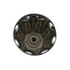 Gerber 94-401 Large Fluted Zinc Handle - Short Broach Chrome
