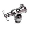 "T&S Brass B-0736-POL Sill Faucet 1/2"" NPT Female Inlet 3/4"" Hose Thread"