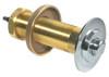 "Sloan 0303078 C9A Chrome Plated Push Button Assembly 6-3/4 LDIM 5"" Thread"