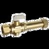 Dahl 521LB-33-33L, 5/8 OD Comp X 5/8 OD Comp Long. Lead free.