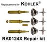 For Kohler RK0124X 3 Valve Rebuild Kit - Cross