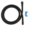 """Delta RP50390 Pull-Up/Pull-Down DST Faucet 54"""" Quick-Connect Hose & Clip"""