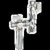 Dahl E33-5001-WHA, 5/8 OD Comp X 3/8 OD Comp X 3/8 OD Comp. Lead free.